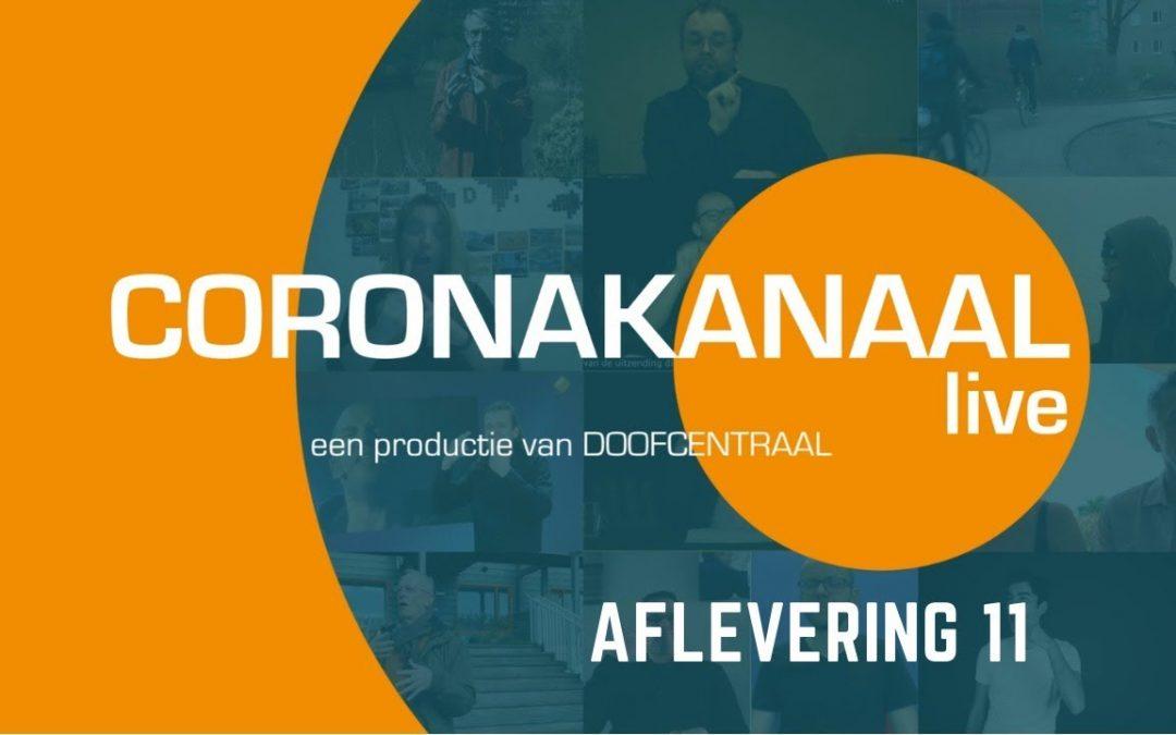 Coronakanaal live