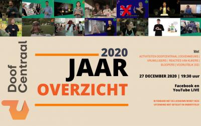 Bekijk DoofCentraal Jaaroverzicht 2020