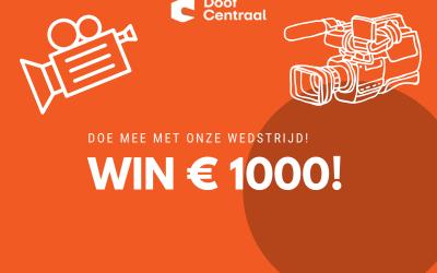 Doe mee met onze wedstrijd en win 1000 euro!